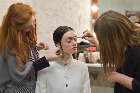 Backstage Editorial Maven46 fashion and beauty - Dublin