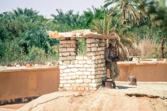 Army Officer, Siwa, Egypt